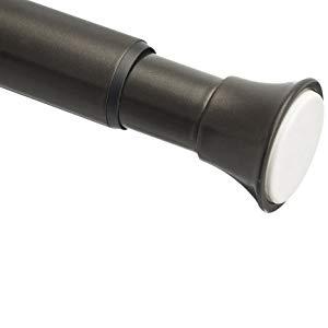 AmazonBasics - Barra de tensión para cortina de ducha, 198 a 274 cm, bronce: Amazon.es: Hogar