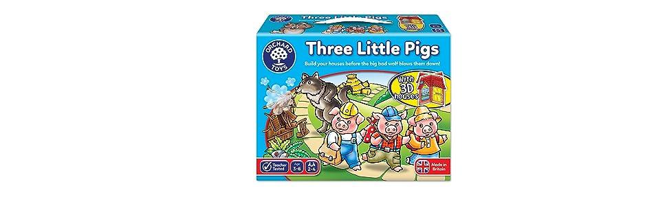 Orchard Toys-Juego De Tres Cerditos