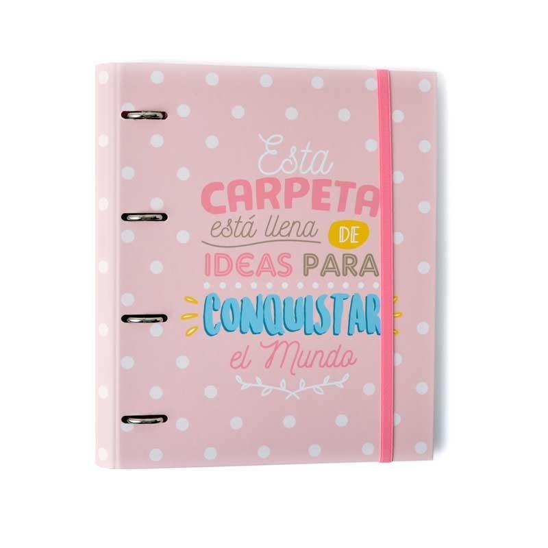 Grupo Erik Editores CAT0016 - Carpeta 4 Anillas Troquelada