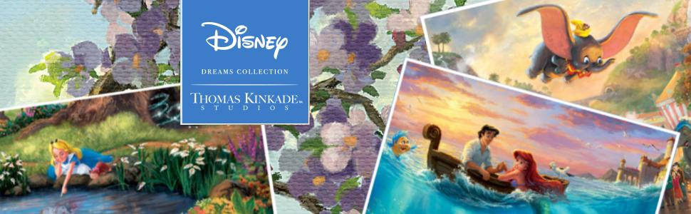 Thomas Kinkade Studios: Disney Dreams Collection 2020 Wall