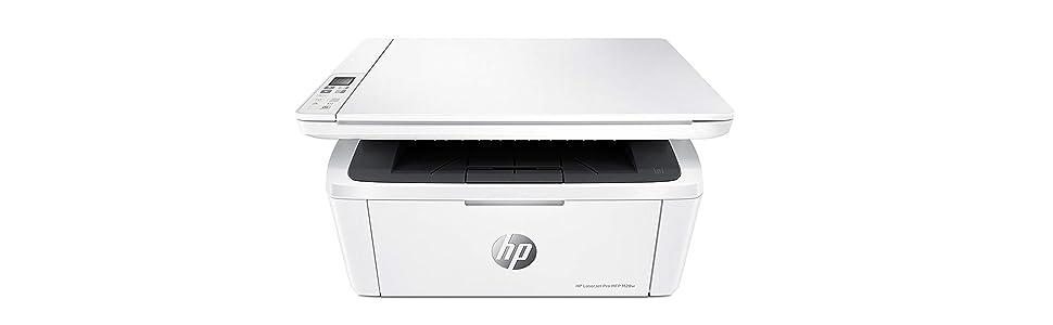 HP LaserJet Pro M28w - Impresora láser (USB 2.0, WiFi, 18 ppm, memoria de 32 MB, Wi-Fi Direct y aplicación HP Smart)