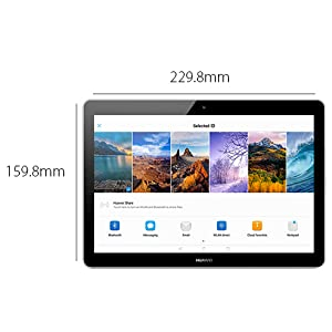 Huawei MediaPad T3 Tablet - 10 Inch, 16GB, 2GB RAM, Wifi, Space Grey