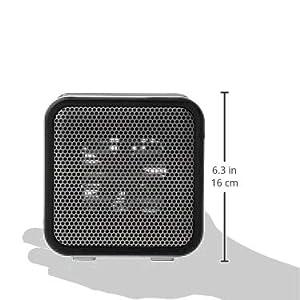 AmazonBasics 500-Watt Ceramic Small Space Personal Mini Heater