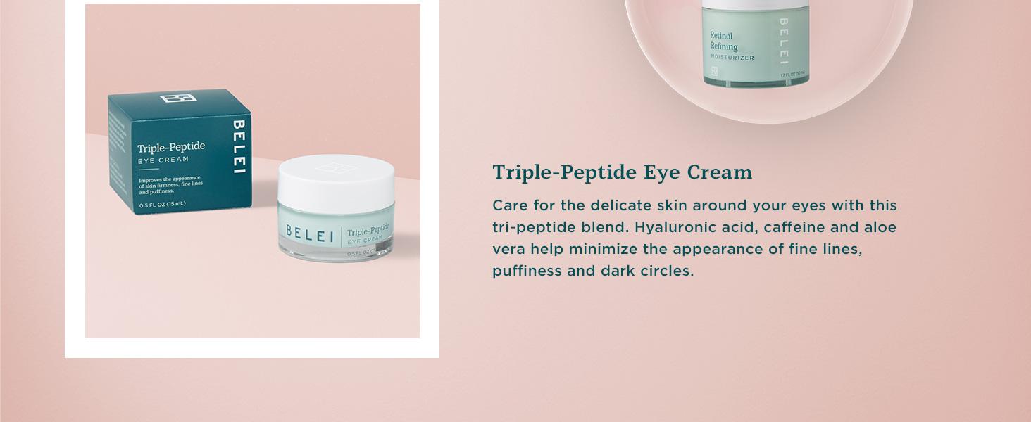 belei eye cream, delicate eye area, eye cream, cream for eyes, dark circles, puffy eyes, fine lines