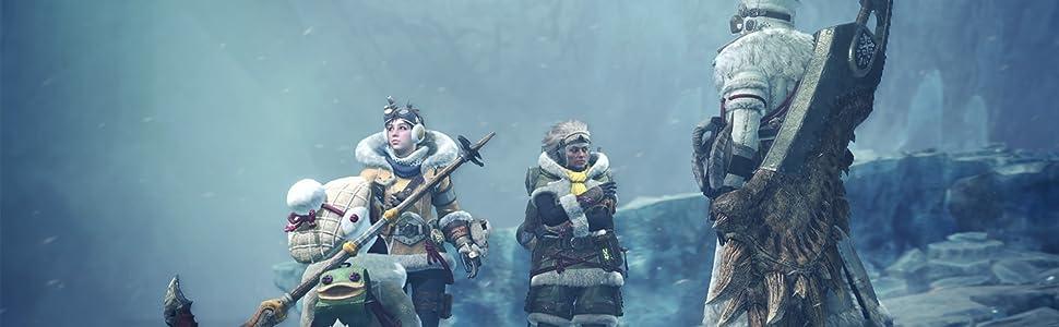 Monster Hunter World: Iceborne - Master Edition - PS4: Amazon.es: Videojuegos