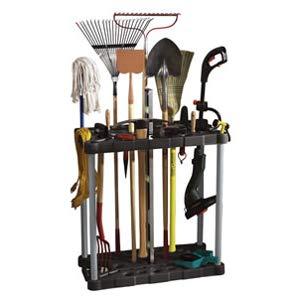 Amazon Com Rubbermaid Deluxe Tool Tower Garage Storage