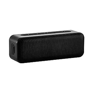 Amazon Basics Bluetooth Stereo Lautsprecher Mit Wasserabweisendem Design 15 W Schwarz Audio Hifi