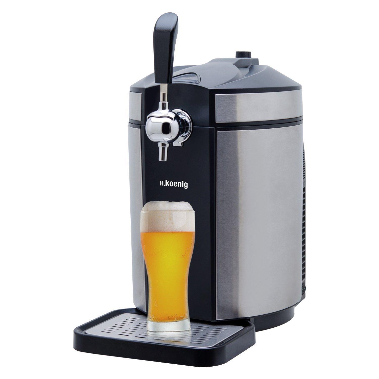 H.Koenig BW1880 Tirador de Cerveza Compatible, 65 W, 5 kg, Acero ...