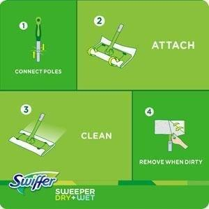 Amazon Com Swiffer Sweeper Cleaner Dry And Wet Mop