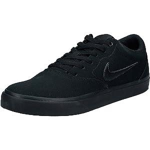 Nike Sb Charge Cnvs, Men's Skateboarding Shoes, Black 001, 44 EU