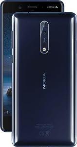 Nokia 8 Azul Dual SIM [Versión italiana: Podría presentar ...
