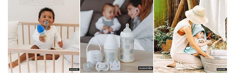 Suavinex - Aspirador nasal bebé +0 meses con boquilla anatómica ...