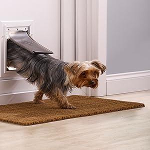 Croci C6066233 Petsafe Staywell Aluminio Door Pet, Medium, Bianco: Amazon.es: Productos para mascotas