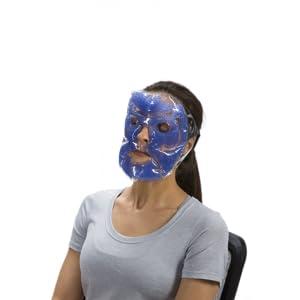blocage de la lumi/ère compresse oculaire Koamask Masque de sommeil lest/é Soulagement de la douleur Th/érapie Chaud Froid Migraine douleur sinusale yeux secs yeux gonfl/és