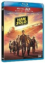 Han Solo Una Historia de Star Wars Standard BD 3D+2D Blu-ray: Amazon.es: Alden Ehrenreich, Woody Harrelson, Emilia Clarke, Ron Howard, Alden Ehrenreich, Woody Harrelson, No disponible: Cine y Series TV