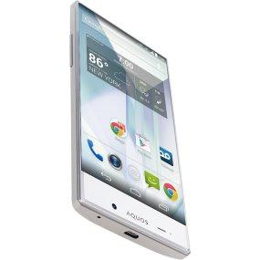 Sharp Aquos Crystal Mobile Phone (Silver): Amazon in