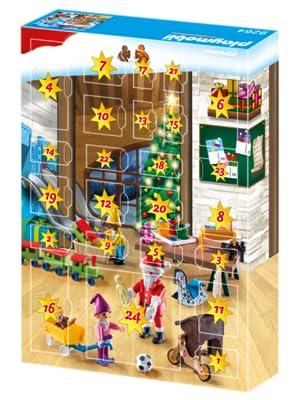 Playmobil 9264 - Calendario dell'Avvento Babbo Natale: Amazon.it