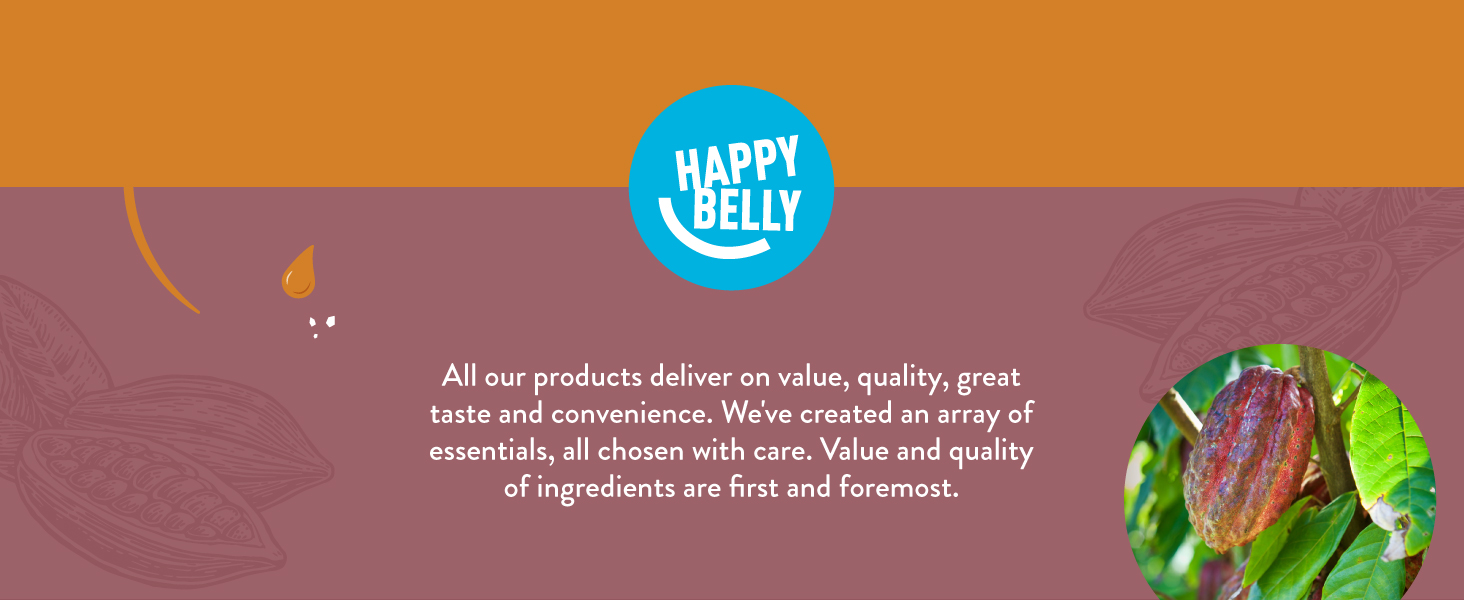 All our products deliver on value, quality, great taste and convenience. We've created