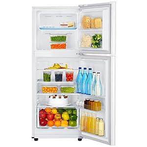 Samsung Refrigerator, 220v, 6.6Cu.ft, Double Door, White, RT20HAR2DWW