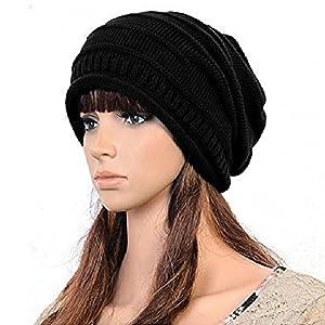 fb9194b4ea0 Zacharias Unisex Woolen Beanie Cap Black  Amazon.in  Clothing ...