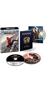 【Amazon.co.jp限定】スパイダーマン:ファー・フロム・ホーム 4K ULTRA HD & ブルーレイセット(初回生産限定) [4K ULTRA HD + Blu-ray]
