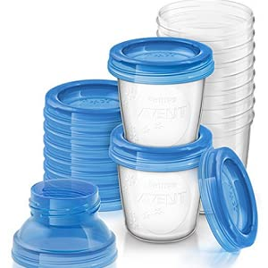 Amazon.com: Philips AVENT Vasos de almacenamiento de leche ...