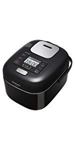 パナソニック 3合 炊飯器 圧力IH式 Wおどり炊き Jコンセプト シャインブラック SR-JW058-KK