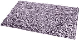 AmazonBasics Non Slip Microfiber Shag Bath Rug