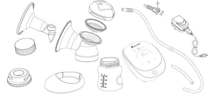 Amazon Com Bellema Plethora Doublesingle Electric Breast Pump