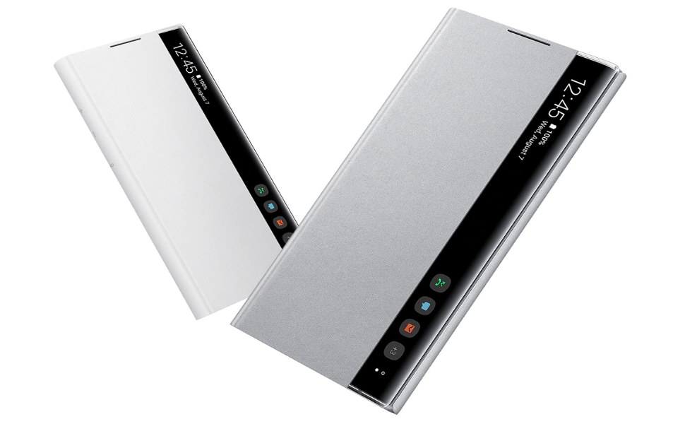 Samsung EF-ZN975CBEGWW Funda Clear View Cover Note 10+ negro