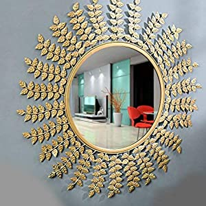 wall mirror, mirror, mirror for living space