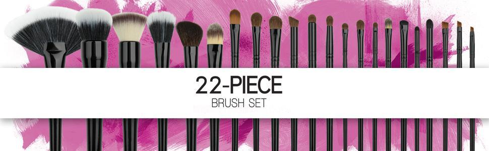 Coastal Scents 22 Piece Brush Set, No.88