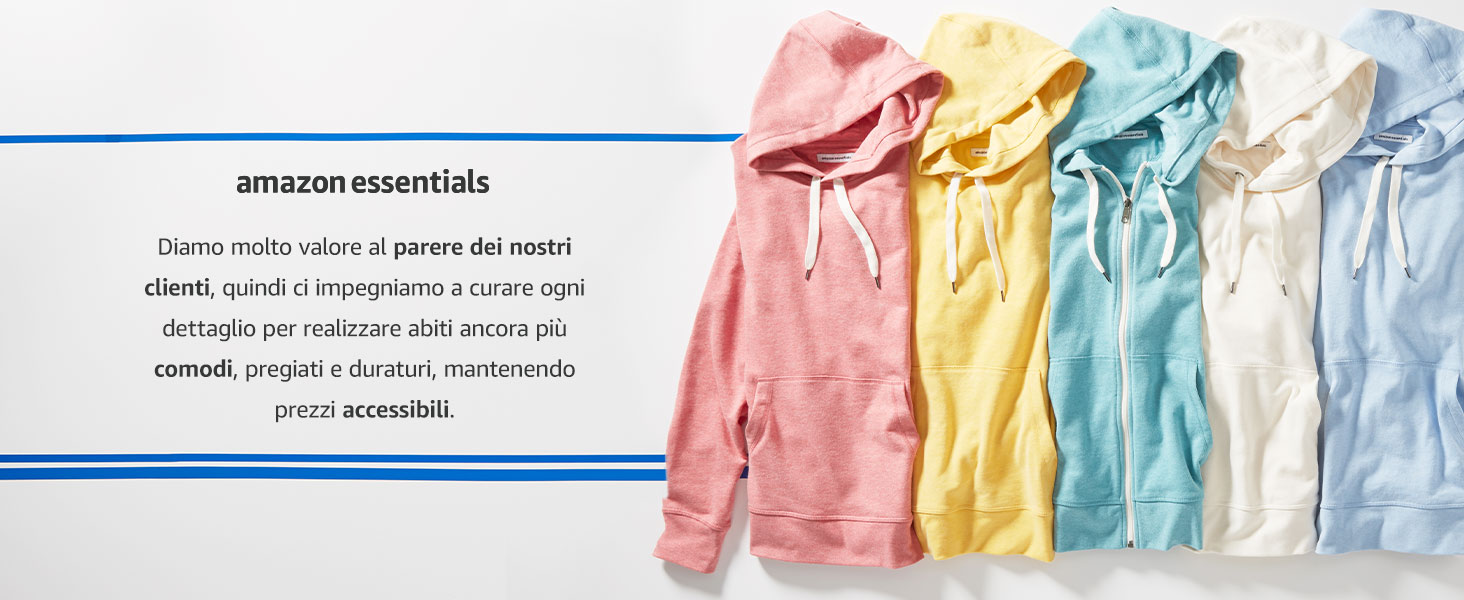 Essentials Giacca in pile polare Bambina