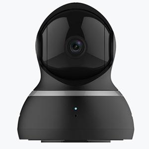 YI Dome Camera 1080p HD Wireless IP Security Surveillance Night Vision - Black, US Edition