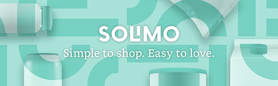 Solimo vitamins and supplements