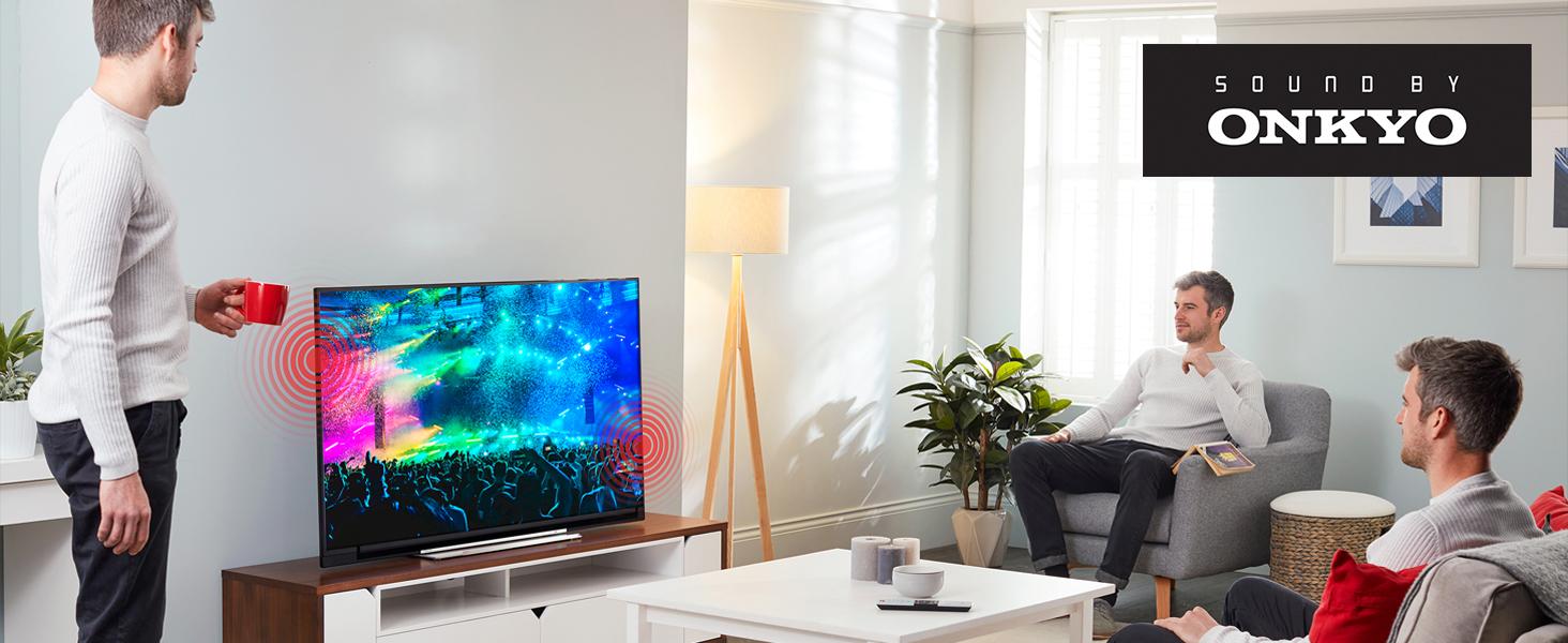 Toshiba UHD Smart TV Onkyo Sound