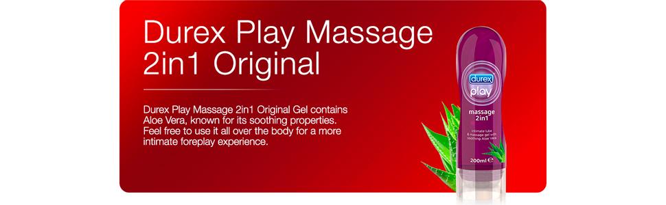 Durex Durex Play Original Massage 2in1 Lube soothing Aloe Vera  - 200ml Gel