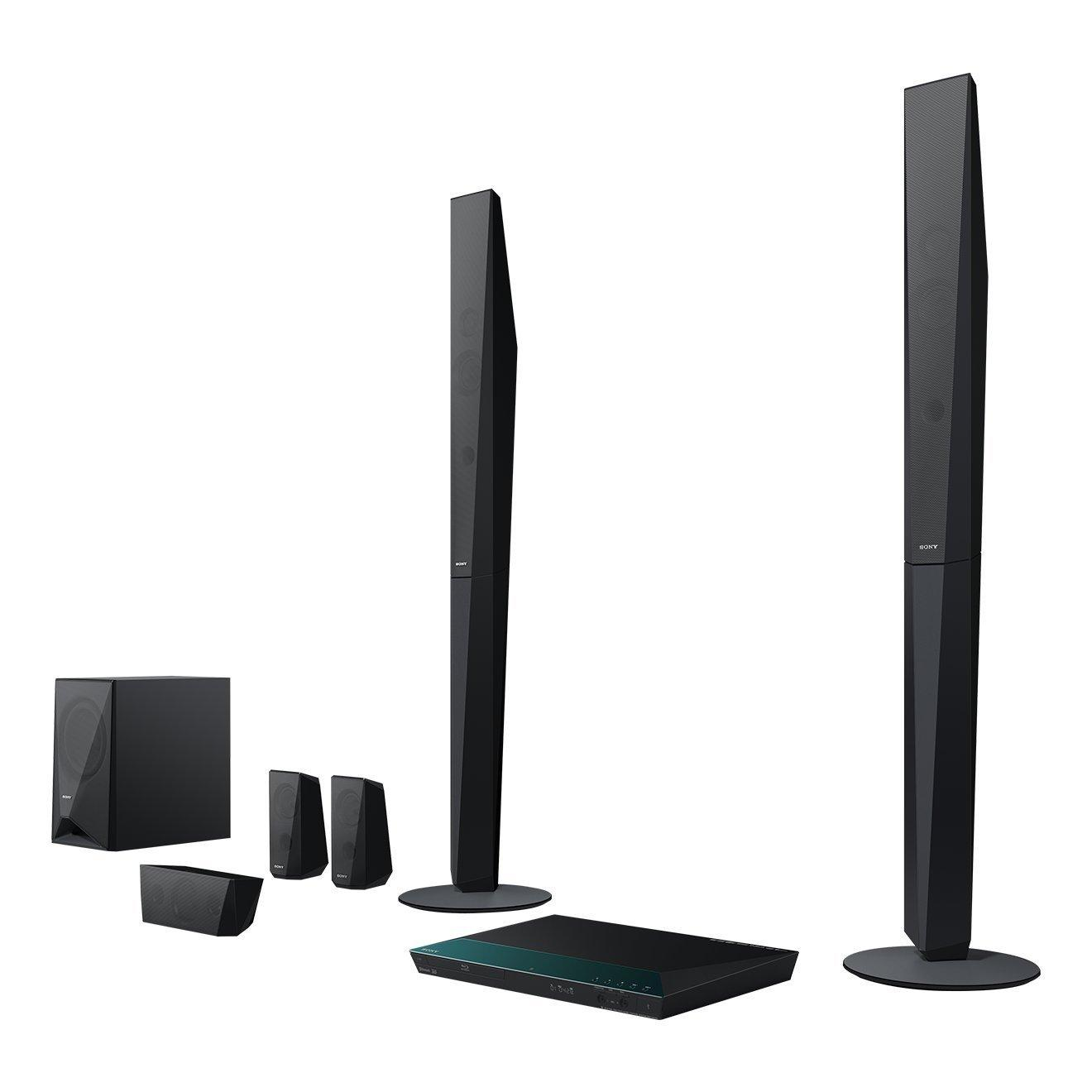 sony bdv e4100 1000 w home cinema system with tall. Black Bedroom Furniture Sets. Home Design Ideas
