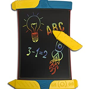 Boogie Board Scribble and Play Color LCD Writing Tablet + Stylus Smart Paper for Drawing eWriter