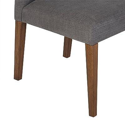 Amazon.com: Stone & Beam Hughes - Silla de comedor de madera ...