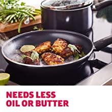 less oil butter