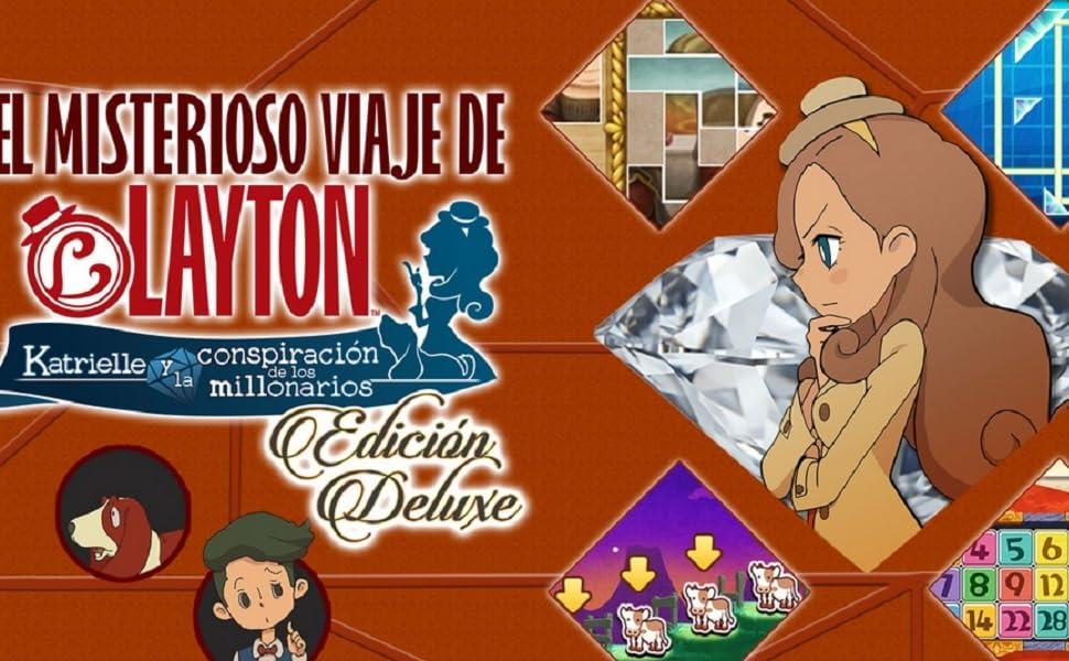 El Misterioso Viaje de Layton: Amazon.es: Videojuegos