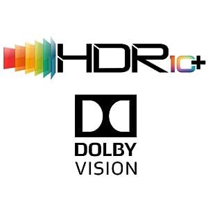 HDR10+/Dolby Vision対応