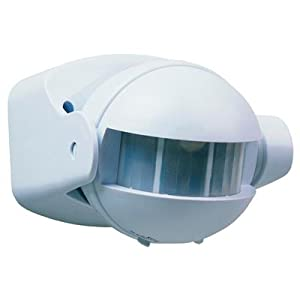 Smartwares 10.017.10 - Detector de Movimiento ES34, 180°, Uso Interior y Exterior