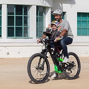 WeeRide Safe Front Deluxe Sillita Portabebé Bicicleta, Infantil ...
