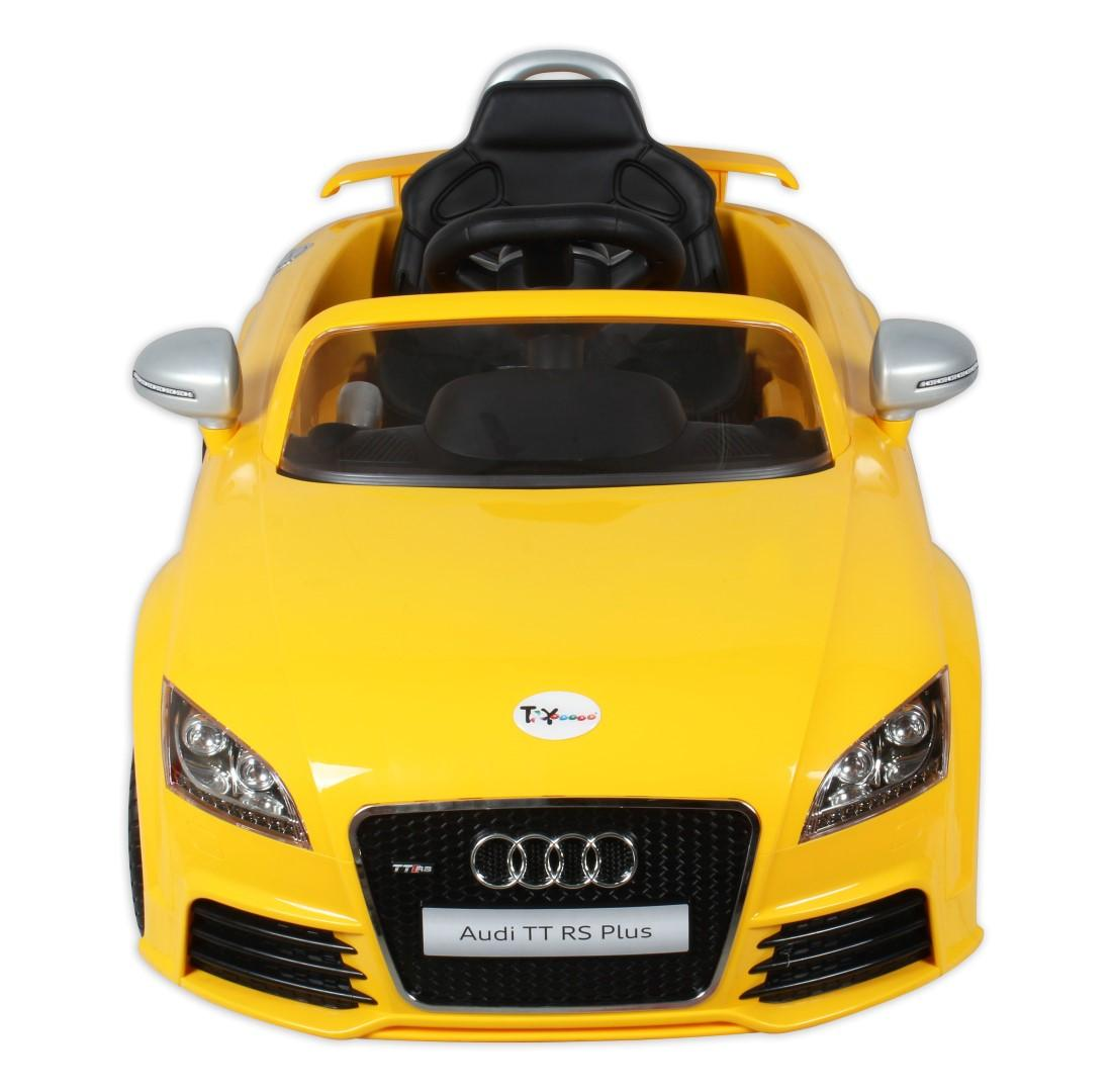 Presenting the toyhouse audi ride on with attractive features and colorful lights a fun way to spend time with your child you can make him sit in the car
