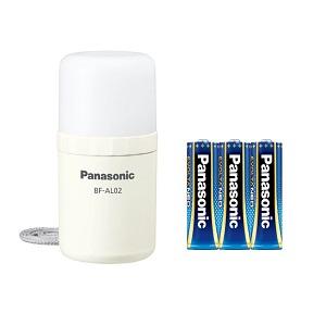 パナソニック LEDランタン 乾電池エボルタNEO付き ホワイト BF-AL02K-W