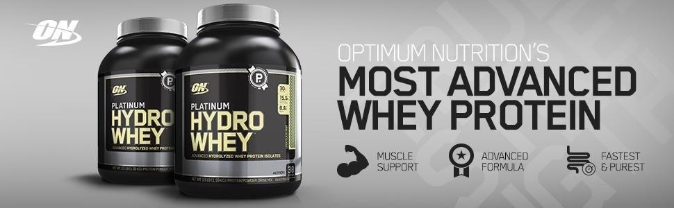 Optimum Nutrition (ON) Platinum Hydro Whey Protein Isolate - 1.75 lbs, 795 g (Velocity Vanilla): Amazon.in: Health & Personal Care