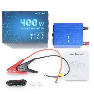 VOLTCUBE AP0801 Power Inverter 12V DC to 110V AC 400W - HK Shared Dream