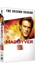マクガイバー シーズン2 DVD-BOX PART1(6枚組)
